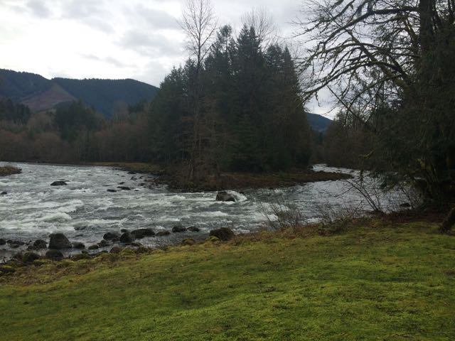 Salmon-Sandy Confluence from Clarks - 1