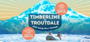 Timberline to Troutdale Cleanups Banner