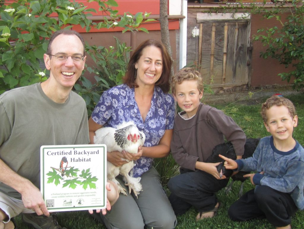 Backyard Habitat Certification