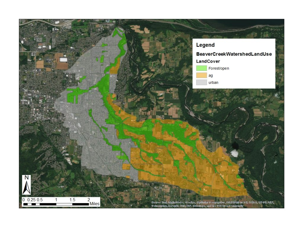 Beaver Creek land use map