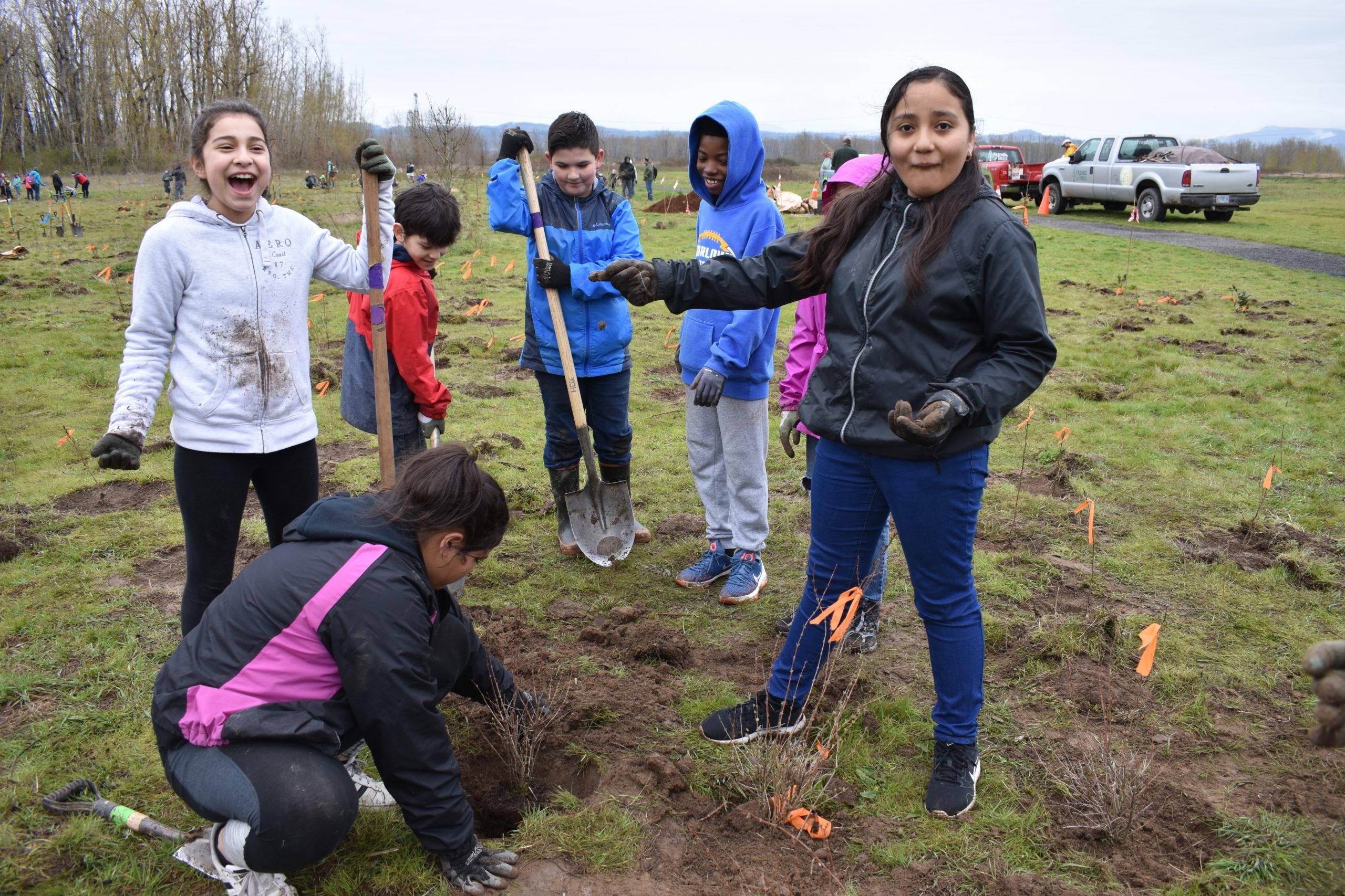 Student Planting 2018